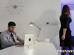 Private.com - Barbara Bieber Puts the Squeeze aloft Will not hear of Boss