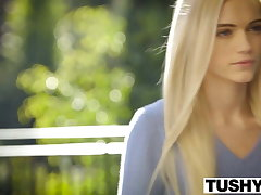 TUSHY First Anal For Beautiful Blonde Alex Elderly