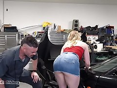 Trickery - Dirty Repairman Tricks Kenzie Madison Into Sex