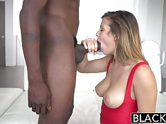 BLACKED Keisha Grey First Big Sinister Cock!