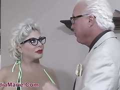 Giant Tit & Fat Aggravation Whore Claudia Marie Fucked By Teen BBC