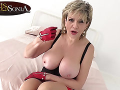 How long will you proceed with with heavy tit mature Lady Sonia?