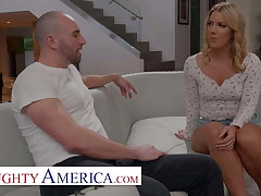 Naughty America - Candice Dare gets a Shagging willing deal