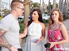 Lena Paul And Whitney Wright Share Boyfriend Nathan Red's Cock