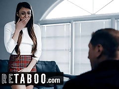 PURE TABOO Priest Convinces Teen 2 Give Will not hear of Anal Virginity