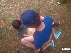 Jav Teen Henada Fucks To the utmost In Public Park, Skinny Girl