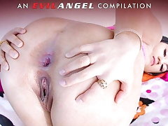 EvilAngel - Way-out Anal Gaping Compilation Ornament 2!