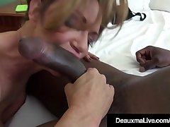 Prexy Cougar Deauxma Bangs A Big Black Cock!