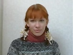 Russian Sexy Redhead Teen Anal Performers