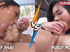 LETSDOEIT - Hot Asian Compilation - May Thai vs Polly Pons!