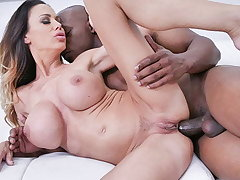 ANALMOM - Cougar Gets Bore Fucked By her Big Black Flannel Boss