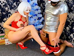 Femdom Dick Milking Leads to Ruined Orgasm