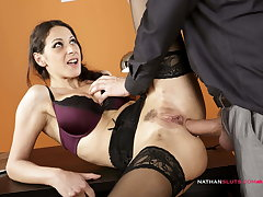 Hot Secretary's BUTT DESTROYED At the end of one's tether Big Dick Kingpin
