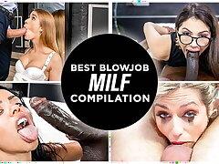 LETSDOEIT - Crazy Hot Best Blowjob MILF Compilation 2021!