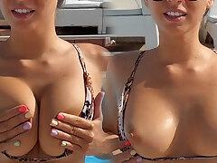 I love sunbathing naked in public!