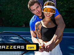 Xander Corvus Massages Gina Valentina's Foot To Ease Her Pain