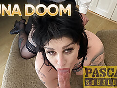 PASCALSSUBSLUTS - UK Luna Doom Pussy Drilled By Pascal Washed out