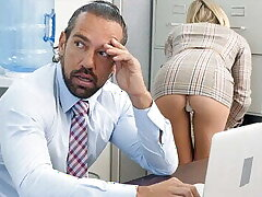 PASSION-HD – Office Twit Gets Boss' Dick Everlasting
