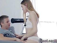 Anally gaping teen beauty