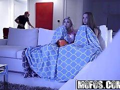 Mofos - Pervs Atop Patrol - (Cristi Ann, Liza Rowe) - Hardcore Halloween Prank