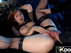 5KPorn - Perfect Redhead Daphne Risk Like You've Never Seen