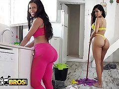 BANGBROS - Big Booty Maid Canela Skin Gets Fucked By Pablo Ferrari