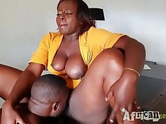 bbw Miss Lonelyhearts get fucked by her boss