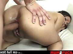 Busty ebony bitch likes to eat sperm (Bethany Benz)