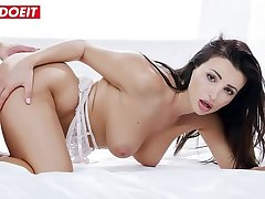 LETSDOEIT - Big Tits Latina Brunette Alyssia Kent Knows To Handle Big Cock In Erotic Sex