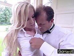 Lexi Lou Skinny blonde showered in cum porn HD